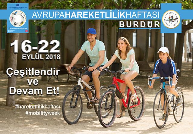 Burdur Belediyesi, Avrupa Hareketlilik Haftası